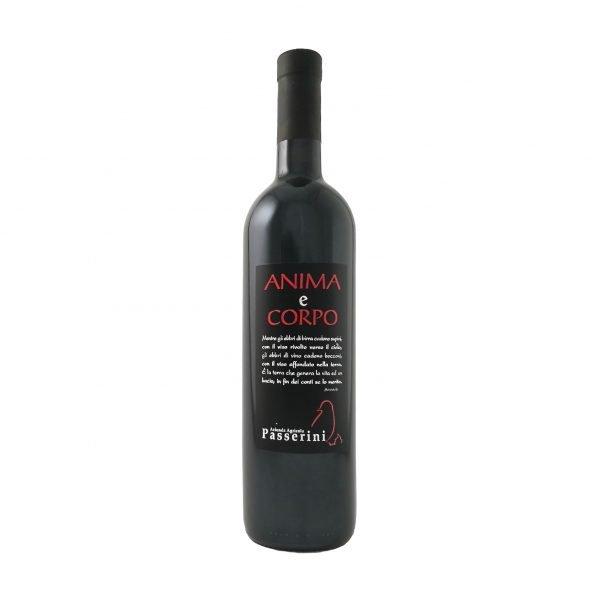 Bottiglia Vino Anima e Corpo Colli Piacentini - Azienda Vitivinicola Passerini