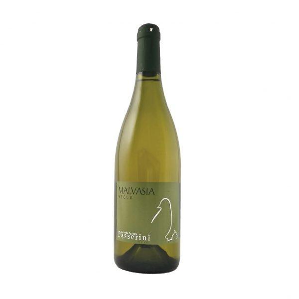 Bottiglia vino Malvasia Secco Colli Piacentini - Azienda Vitivinicola Passerini